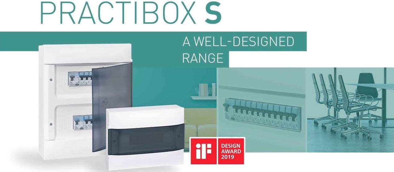 Tủ điện cao cấp Practibox S Legrand