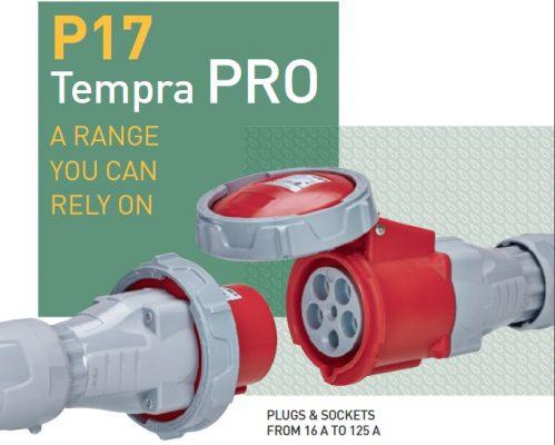 Dòng phích cắm - ổ cắm công nghiệp P17 Tempra Pro - Legrand
